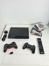 Playstation 3 Super Slim 500GB Console with Controllers and Games