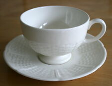 Wedgwood  WILLOW WEAVE - Footed Tea Cups & Saucers ENGLAND