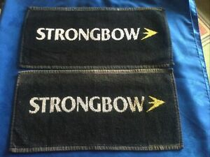 STRONGBOW CIDER BEER BAR TOWEL/MAT HOME BAR MANCAVE PRE OWNED