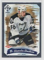 2000-01 Alexander Kharitonov Private Stock Silver Numbered Rookie Parallel