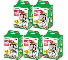 100 SHEETS Fujifilm Instax Instant Film For Mini 8-9 & all Fuji Mini Cameras