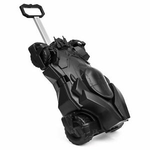 Official Batman Batmobile Kids Luggage Case Black