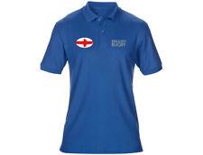 Brodé anglais femme England Rugby Polo Shirt 6 couleurs