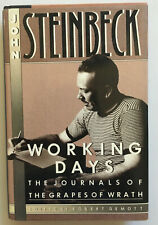 Working Days: Journals of the Grapes of Wrath by John Steinbeck (Hardcover)