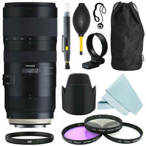 Tamron SP 70-200mm f/2.8 Di VC USD G2 Lens for Canon EF + Filter Kit + Accessory