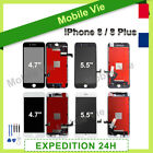 VITRE TACTILE + ECRAN LCD RETINA ASSEMBLÉ SUR CHASSIS POUR IPHONE 8 / 8 Plus