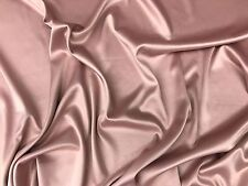 """Solid Armani Satin Fabric By The Yard 60"""" Width Available In Different Colors"""