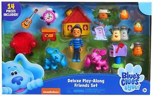 Blue's Clues & You! Deluxe Play-Along Friends Set - Toy Gift NEW 2020
