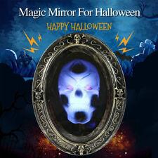 Specchio Horror Parlante Halloween Decorazione Specchio Scheletro Stregato Prop