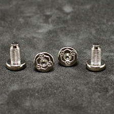 For KIMBER 1911 Grip Screws Fits All 1911 Grips Models Nickel plated 4 pcs
