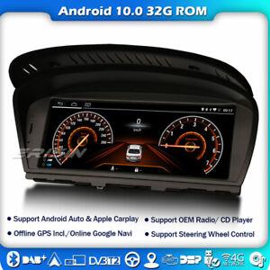 """8.8"""" Android 10 Autoradio Navi GPS WIFI BMW 3er E90 E91 E92 5er E60 E61 E63 CIC"""