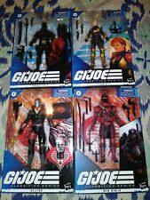 Gi Joe Classified Red Ninja Scarlett Destro And Snake Eyes
