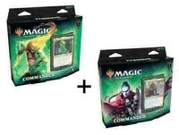 MTG Zendikar Rising Commander Deck Set of 2 Both Decks SEALED New Magic 9/25