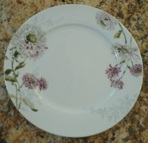 Set of 3 Mikasa Silk Flowers Bread /& Butter Plates Free Shipping!!