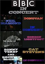 BBC IN CONCERT DVD - NEIL DIAMOND - DONOVAN - HARRY NILSSON - CAT STEVENS & MORE
