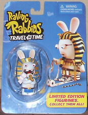 Raving Rabbids TRAVEL in TIME Limited Edition PHARAOH EGYPTIAN mini figure