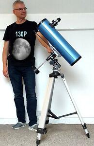 "SkyWatcher 130P 5"" Parabolic Newtonian Reflector Telescope on EQ2  VGC"