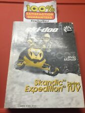 OEM BRP Ski Doo 2007 Snowmobile Skandic Expedition Service Shop Manual 484200081