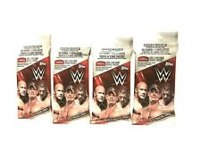 2016 TOPPS WWE FAT PACKS ( 4 PACK LOT ) ( EXCLUSIVE TRIPLE H CARD )