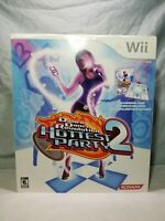 Dance Dance Revolution Hottest Party 2 (Nintendo Wii, 2008) Game in Box ddr