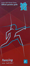 London 2012 Olympic Games Épée Fencing, Foil Fencing Spectator Guide / Guides