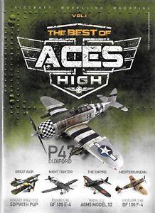 Le Meilleur De ACES HIGH Magazine Volume 1,Aircraft Modélisme Magazine,Ak 2925