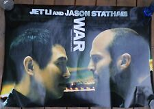 2007 War DS 1 Sht Movie Poster-Original Film Release-Jet Li