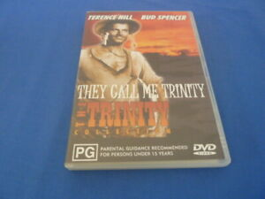 They Call Me Trinity DVD Terence Hill Bud Spencer Region 0