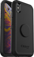 OtterBox Otter + Pop Defender Series Case for iPhone X/XS  Black