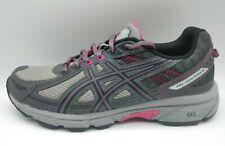 Asics Womens Gel-Venture 6 Gray Mesh Running Shoes Sz 10