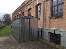 Fertiggaragen Blechgarage Metallgarage Motoradgarage nach Maß 2x3m Satteldach