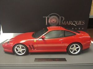Top Marques Ferrari 550 Maranello rossa red 1996 1/12 TM12-30A