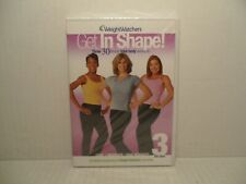 Weight Watchers Get In Shape! Three 30 Minute Total Body Workouts (DVD) NEW