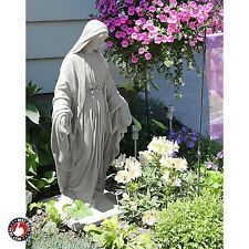 Religious Garden Statues And Sculptures Unique Decor Lawn Virgin Mary Outdoor