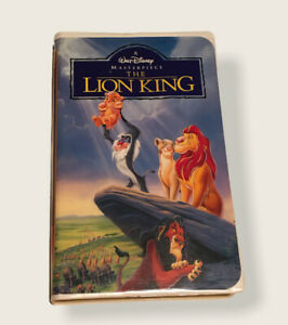 The Lion King (VHS, 1995) RARE #2977
