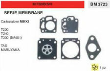 MEMBRANE CARBURATORE DECESPUGLIATORE MITSUBISHI TAS MARUYAMA T200 T240 T300