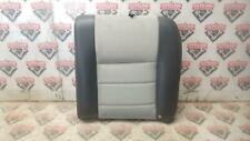 2003-2004 Mustang Shelby Cobra LH Left Driver Rear Back Seat Upper Suede Gray