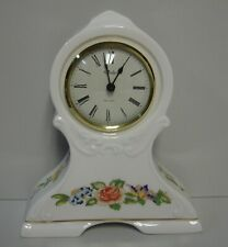 Aynsley COTTAGE GARDEN Desk Clock, Small BEST! More Items Available