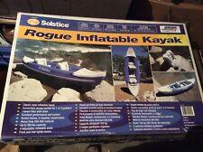 Solstice Rogue Kayak 1 or 2 Person Nib 29900 Inflatable 360lb