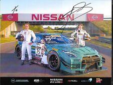 Nissan Nismo Autographed IMSA 2017 Hero Card  Pirelli World Challenge