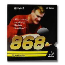 2x Kokutaku BLutenkirshce 868 A Pair Rubber Pips-In Table Tennis Rubber, NEW GBP
