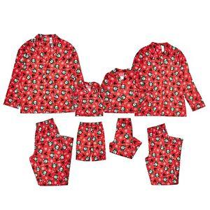 NWT Disney Christmas Holiday Family Sleep Mickey Mouse Pajama set Big Kid 6