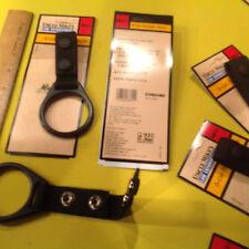 Uncle Mike's 88621 Black Nylon Web D-Cell  Flashlight Ring Holder