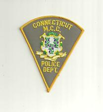 CONNECTICUT -M.C.C.-POLICE DEPT. POLICE PATCH
