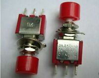 1pcs Momentary PushButton ON-(OFF) N/O+ N/C Normally On/off Snap/Push In Switch