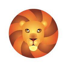 Leo Star Sign Astrology Birth Logo Sticker Decal Graphic Vinyl Label Colour