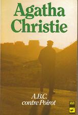 Livre Poche ABC contre Poirot Agatha Christie policier 1938 le masque book
