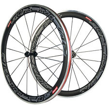700C Carbon Wheels Aluminum Brake Surface 50 Clincher Carbon Road Wheelset Alloy