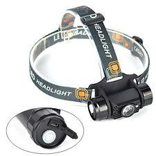 3W Infrared Sensors Rechargeable LED Headlamp Headlight Flashlight Head Torch L