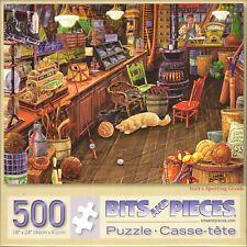 Bits And Pieces - Walt's Sporting Goods 500 Piece Puzzle - Joseph Burgess